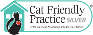 Cat Friendly Practice silver level logo